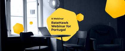 RateHawk Webinar in Portugal