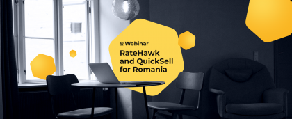 RateHawk and QuickSell Webinar for Romania