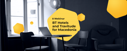 RateHawk, BT Hotels Collection and Travitude Webinar for Macedonia