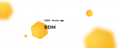 Russia: Business Development Manager (English and German)